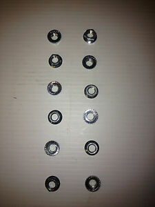 Corvair Cylinder Head Nuts Serrated
