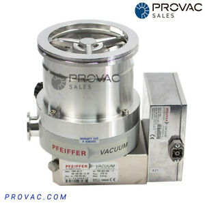 Pfeiffer Tmh 261p Turbo Pump W Tc 600 Rebuilt By Provac Sales Inc