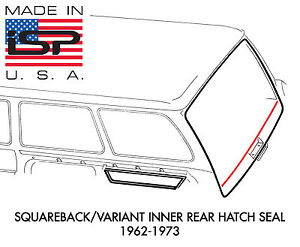 New Vw Type 3 Squareback Variant Lower Rear Cargo Area Hatch Seal 1962 1973