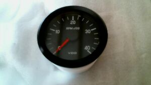 Vdo 333 002c International Tachometer Gauge 4000 Rpm 80mm 24v Free Shipping