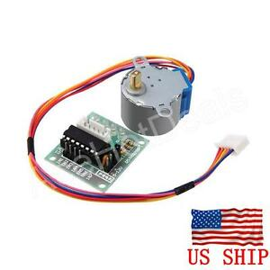 Dc 5v Stepper Motor Uln2003 Driver Test Module Board 28byj 48 For Arduino