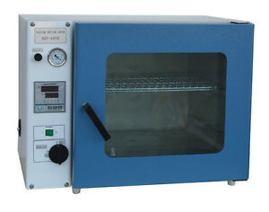110v New 1 9cu Ft Vacuum Drying Oven Up To 250 c Size 16x14x14 For Lab