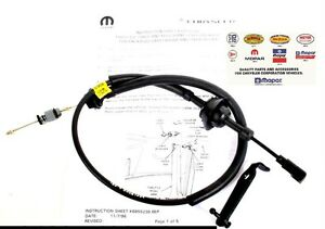 Dodge Ram 2500 3500 Cummins 12 Valve Diesel Throttle Cable
