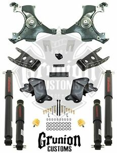 Chevy C1500 Silverado 88 98 2 4 Lowering Kit W Nitro Drop Shocks Belltech