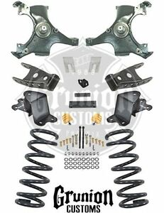 Chevy Silverado 1988 1998 Extended Cab 3 4 Drop Lowering Kit C1500 Belltech