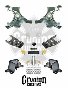 Chevy Silverado C1500 Single Cab 1988 1991 2 4 Lowering Kit Belltech