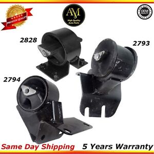 Transmission And Motor Mounts Kit For 96 98 Jeep Grand Cherokee 4 0l