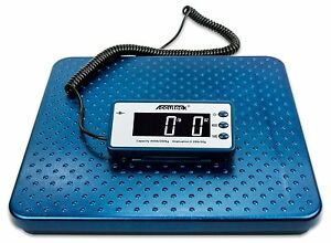 Industrial Digital Postal Scale Weight Ship Vet Animal Heavy Duty Metal Baggage