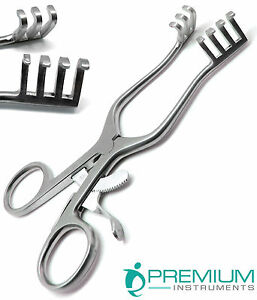 Surgical Weitlaner Retractor 5 5 Blunt 3x4 Prong Veterinary Steel Instruments