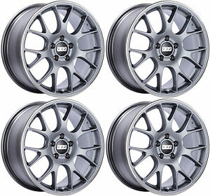 Ch143bbs Ch R Wheels 19x8 5x114 3 38 38mm 38 Offset Chr143 Rims Satin Titanium