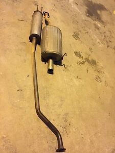 2004 04 Acura Rsx S Oem Factory Exhaust Muffler Assembly