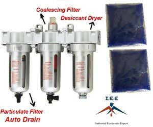 1 2 Compressed Air Inline Particulate Filter Desiccant Dryer Coalescing