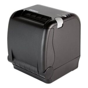 Aldelo Pos x Ion Pt2 Thermal Printer usb ethernet autocutter Black