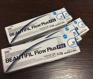 Shofu Beautifil Flow Plus F03 Syringe 2 2g 5 Tips