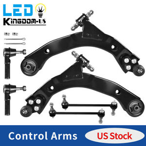 6pc Front Control Arm Ball Joint Suspension Kit For 2005 2010 Chevy Cobalt Hhr