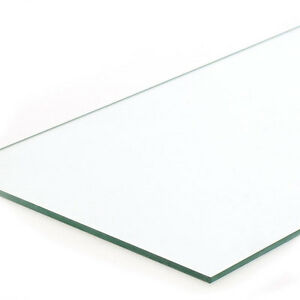 Count Of 4 New Retails Plate Glass Shelf Measures 8 x 34 x 1 4 Thick
