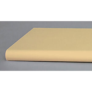 Pack Of 10 New Retails Almond Bullnose Shelf With Open Bottom 13 x48