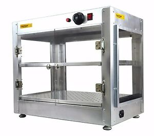 Commercial 24 X 15 X 20 Countertop Food Pizza Pastry Warmer Wide Display Case 01