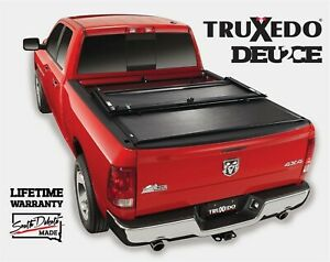 Truxedo Deuce Roll Up Hinged Tonneau Cover Fits Nissan Titan Xd 5 7 Bed