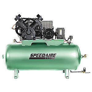 Speedaire Elec Air Compressor 2 Stage 15hp 50cfm 35wc56