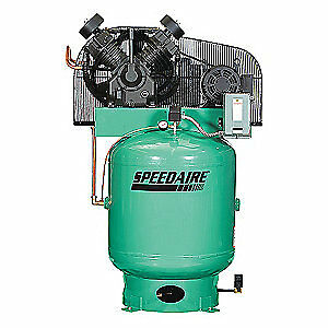 Speedaire Elec Air Compressor 2 Stage 10hp 34cfm 35wc68