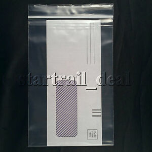 500 6 X 9 4mil Clear Reclosable Resealable Ziplock Zipper Poly Plastic Bags