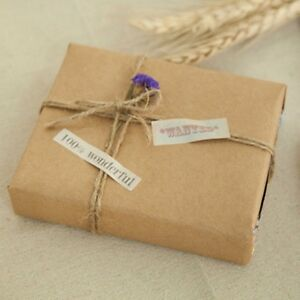 20 5x29 5 Inch Kraft Paper Vintage Brown Packing Paper For Gift Wedding Favor