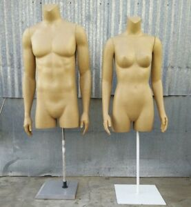 used Mn ka 1 Pc Female Or Male 3 4 Torso Dress Form Local Pickup Los Angeles