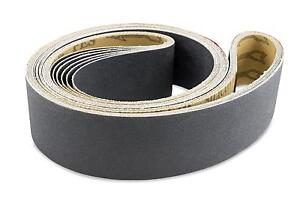 2 X 42 Inch Silicon Carbide Extra Fine Grit Sanding Belts 600 800 1000 Grits