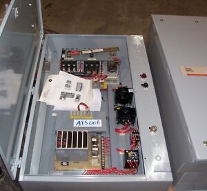 Cutler Hammer Automatic Transfer Switch 100 Amp 480 Volt 3 Phase Indoor Enclosur