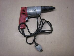 Milwaukee 6583 1 Heavy Duty Screw Shooter 120 Volt 4 5 Amp 1000 Rpm