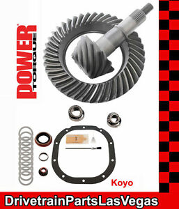 Power Torque Ford 8 8 10 Bolt 4 56 Ring And Pinion Gear Set Pinion Install Pkg
