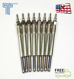 New 8pcs Glow Plugs For Ford 7 3l Super Duty Powerstroke Turbo Diesel 94 03