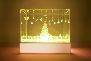 Led Fairy Lighting Display Case For Mini Figures Sony Angels Dolls collectible