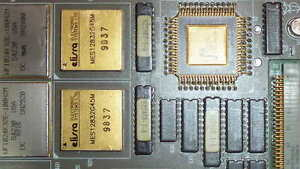 Used Board With Gold Cpu On It 622461 001 Unbranded Connector Ceramic Ic Mil Spc