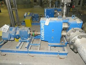 Lobeline Swaby Model Ar110 Positive Displacement Pump