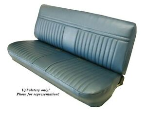 81 87 Chevy Gmc Std Cab Front Bench Seat Upholstery All Vinyl