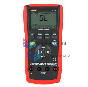 Uni t Ut611 Lcr Meters Inductance Capacitance Resistance Frequency Tester