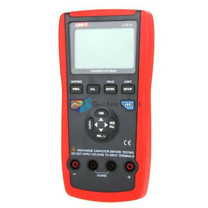 Uni t Ut612 Usb Interface Auto Range Lcr Meter Inductance Freq Auto Off Tester