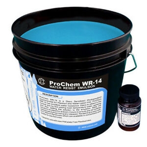 Cci Prochem Wr 14 Water Resistant Diazo Emulsion Silk Screen Printing 1 Gallon
