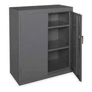 Grainger Approved Steel Storage Cabinet gray 42 In H 36 In W 1ufc2