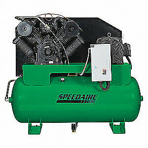 Speedaire Elec Air Compressor 2 Stage 30hp 95cfm 35wc73