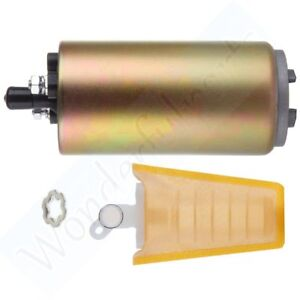 12v Low Pressure Electric Fuel Pump Strainer With Installation Kit E8235