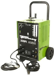 Forney 230 Volt 230 Amp Arc Welder Ac dc With Electrode Holder And 10 Ft Cable