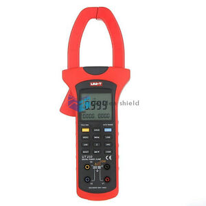 Uni t Ut233 Digital True Rms Power Factor Clamp Meter Multimeter Ac Value Usb