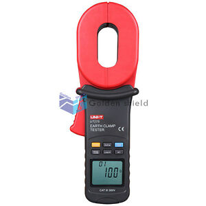 Uni t Ut275 Earth Ground Resistance Clamp Leakage Current Testers Ut 275 New
