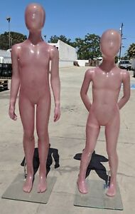 used Mn uni Kids Full Size Mannequin Various Heights Local Pickup Los Angeles