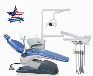 Us Shipping computer Controlled Dental Unit Chair Hard Leather Tuojian A1