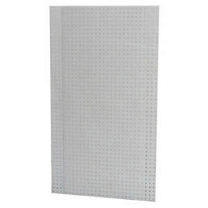 Pegbrd Panel 24 rnd Hole white pk2 2mrv2
