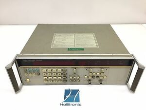 Hp 5335a Universal Counter Options 010